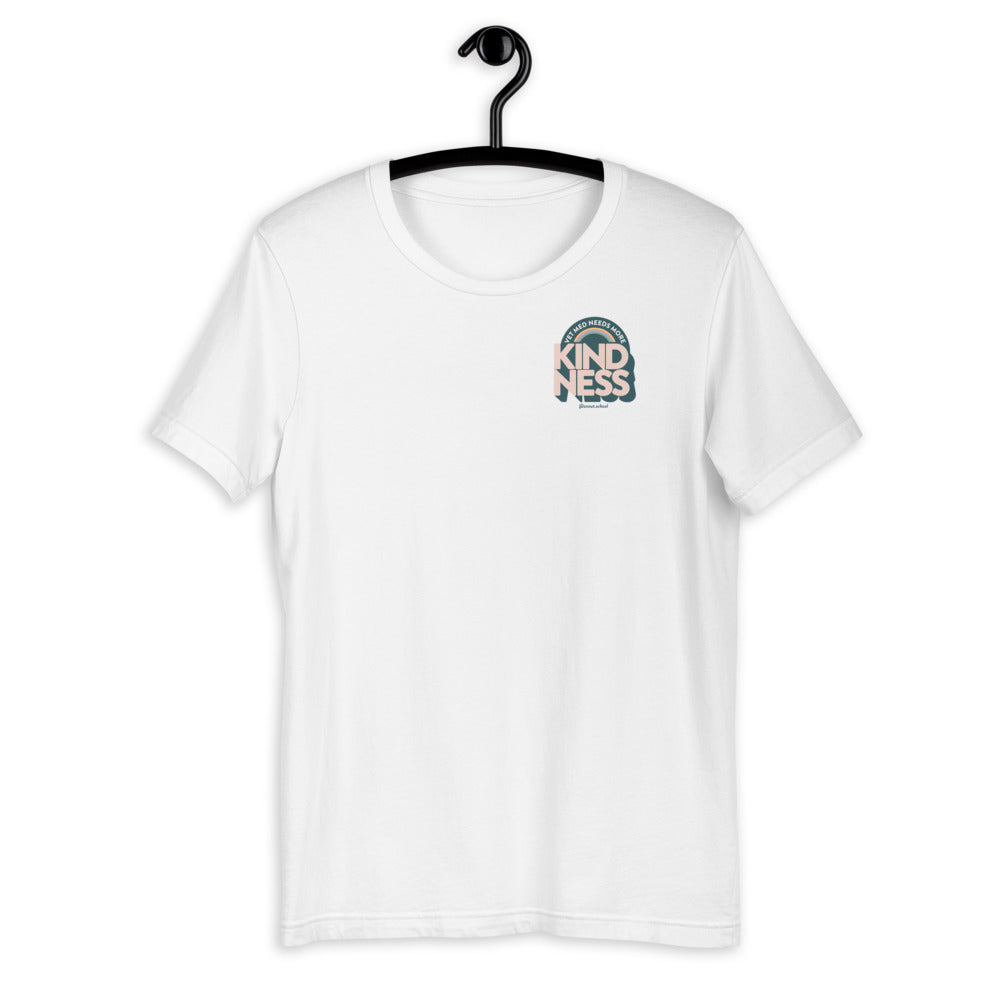 Vet Med Needs More Kindness - Pocket Print Tee