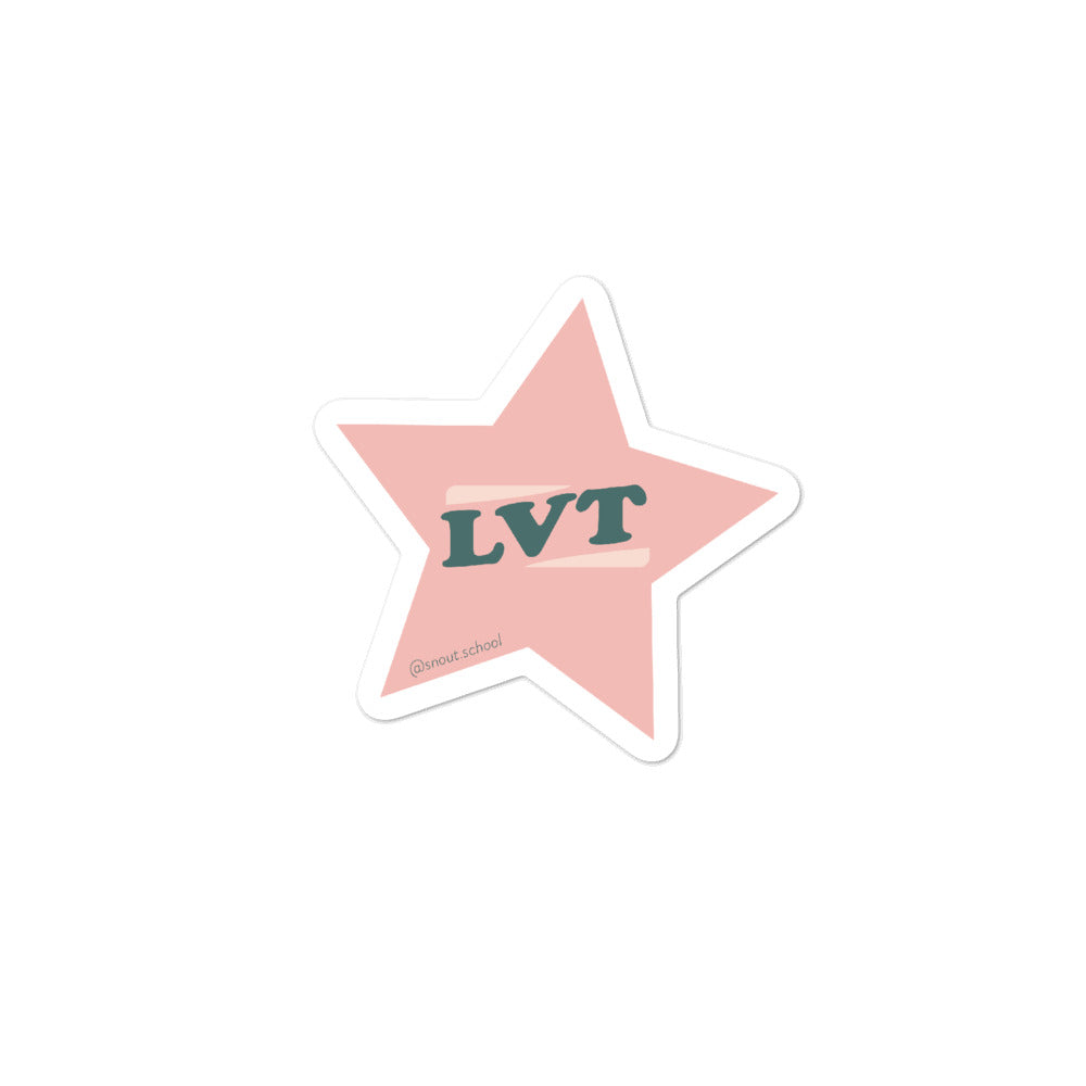 LVT Superstar Sticker