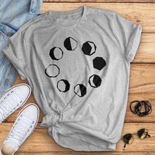 Load image into Gallery viewer, Phases of the Moon Tee