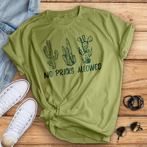 No Pricks Allowed Tee