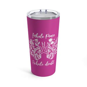 Inhale Peace Tumbler 20oz