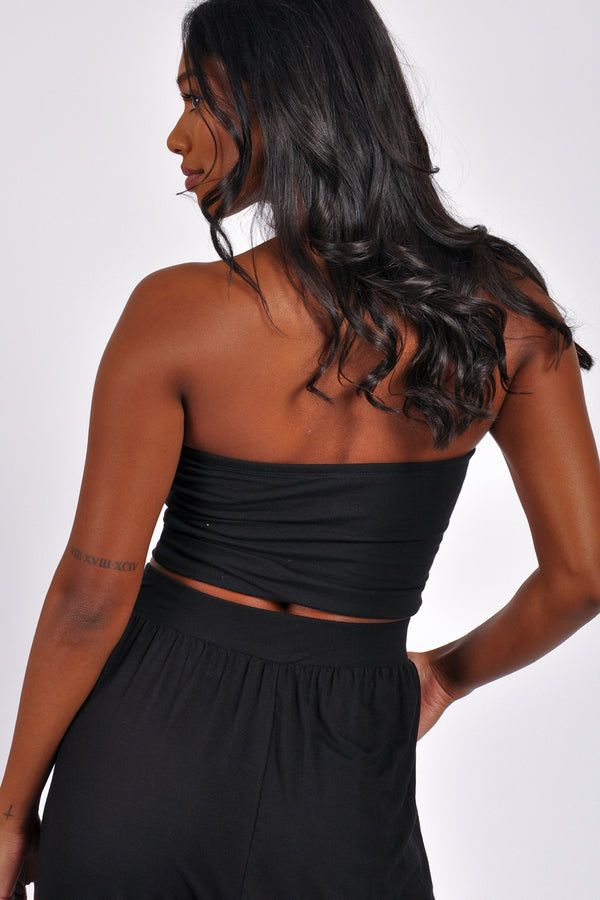 Seam Detail Cargo Wide Leg Jogger - M Boutique