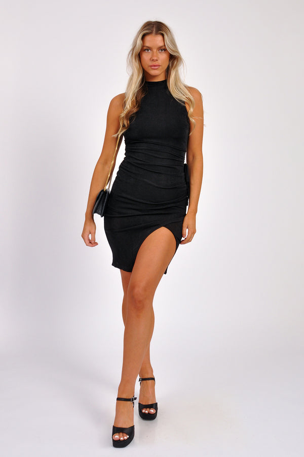 Cotton Skinny Strap Jumpsuit - M Boutique