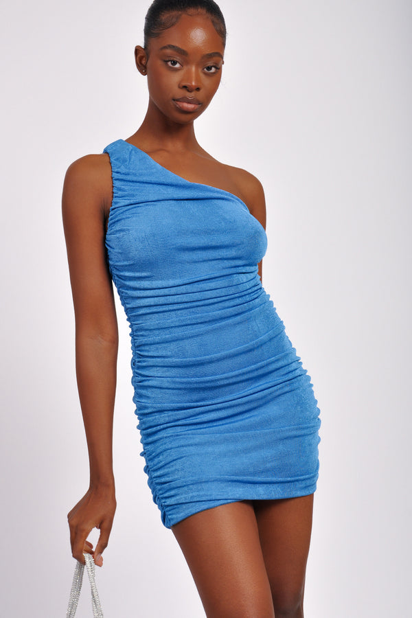 High Waist Knee Rip Wide Leg Jean (Curve Sizes available)