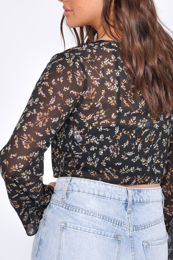 High Waist Tie Waist Elastic Bottom Jogger - M Boutique