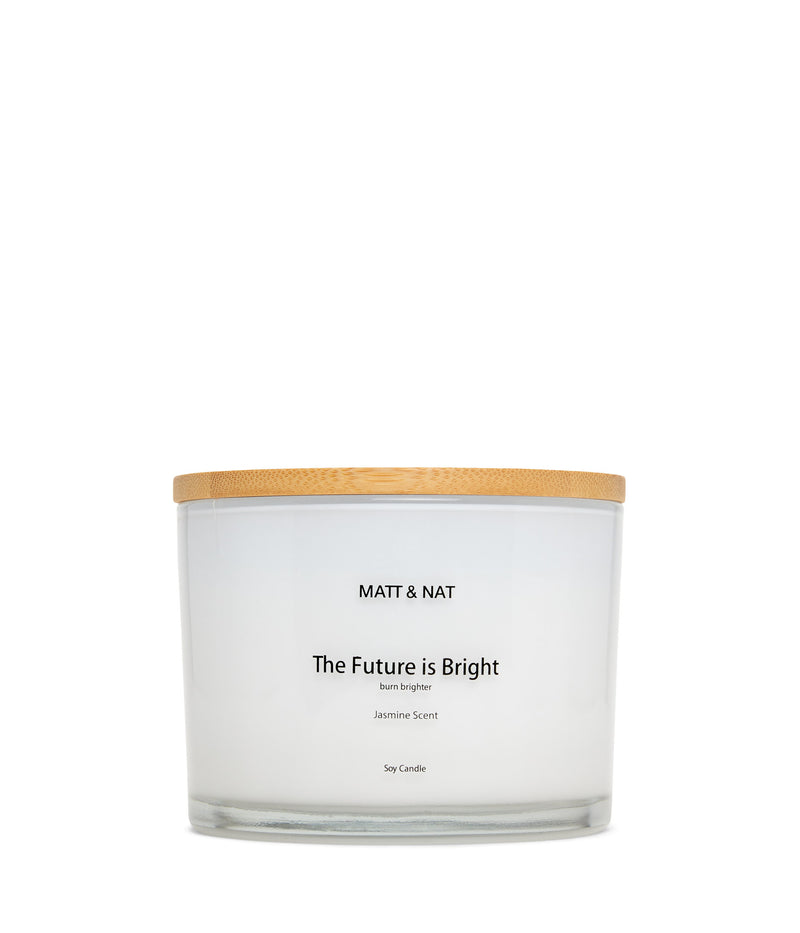 variant::white -- the future is bright candle white