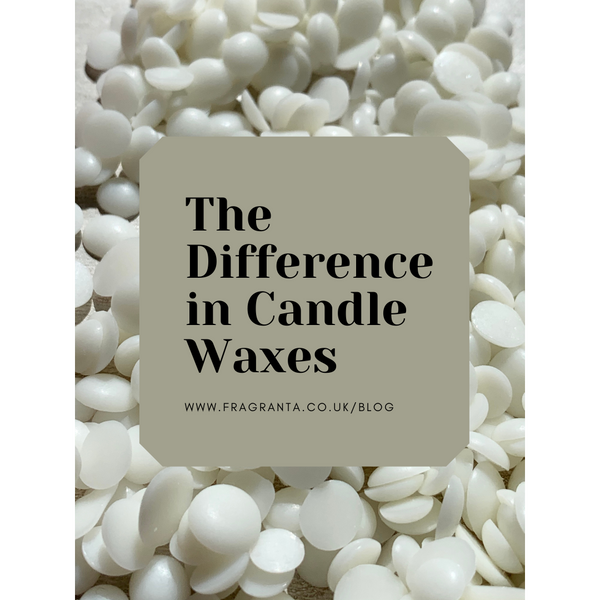 The Difference in Candle Waxes