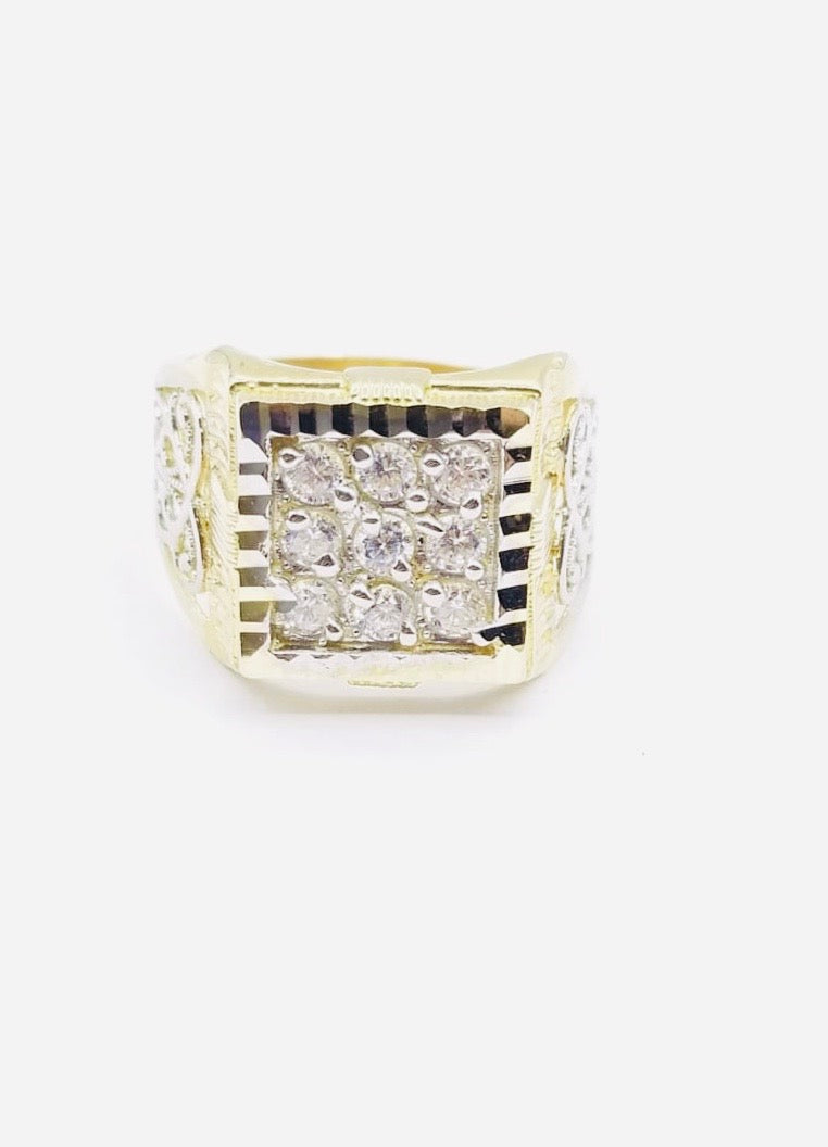 Square Zirconia Ring