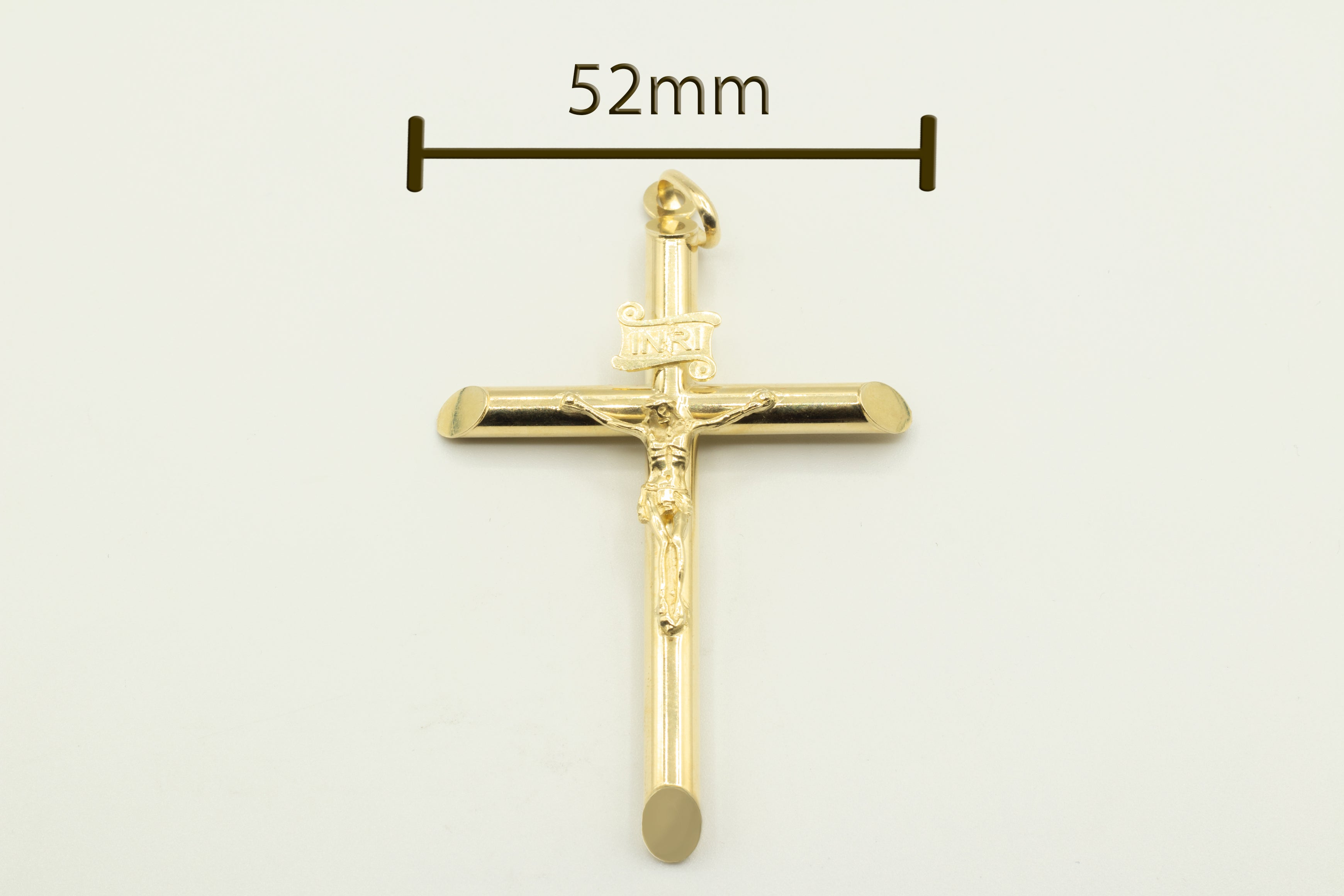 Hollow Cross with Jesus Christ
