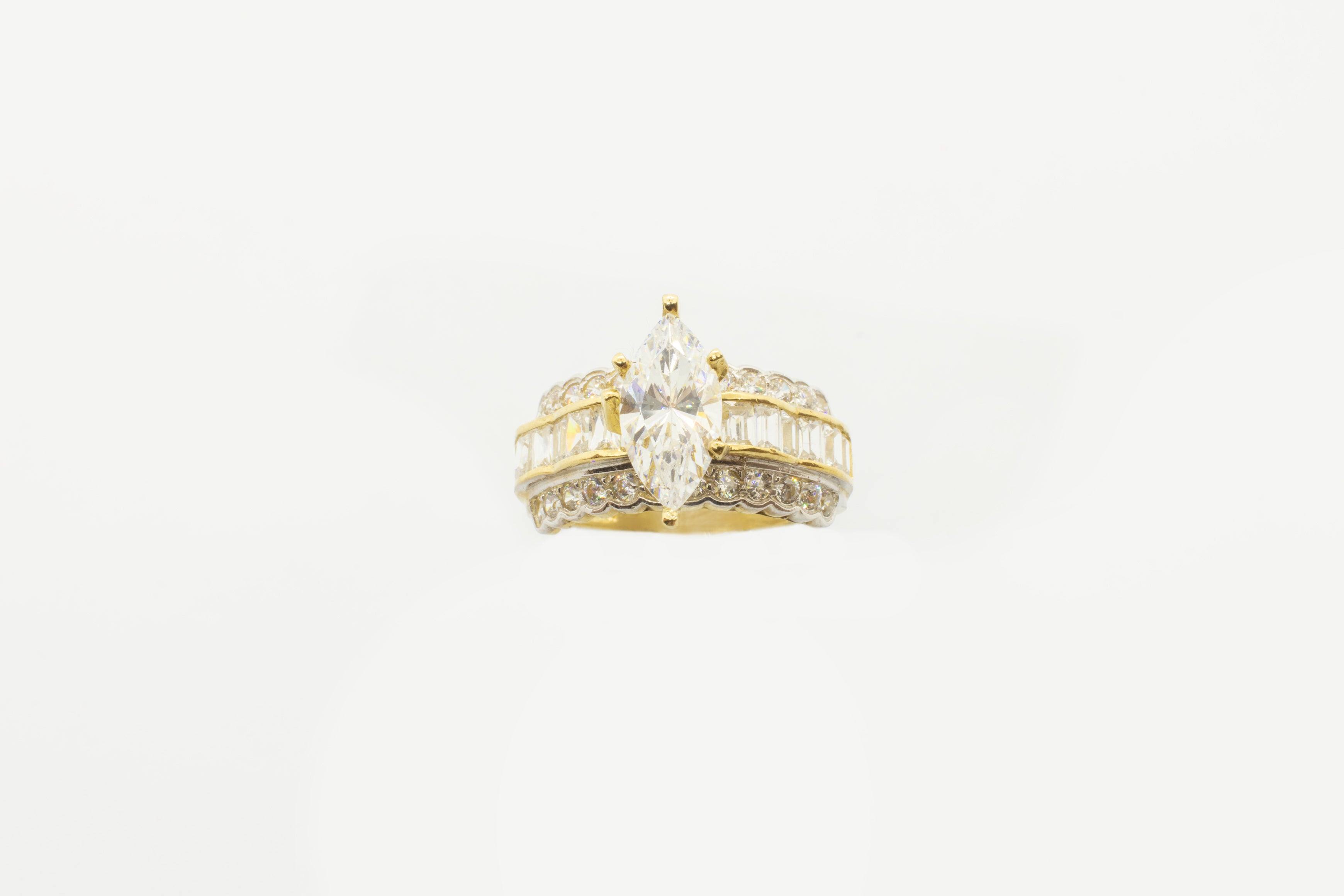 Marquise Zirconia Ring