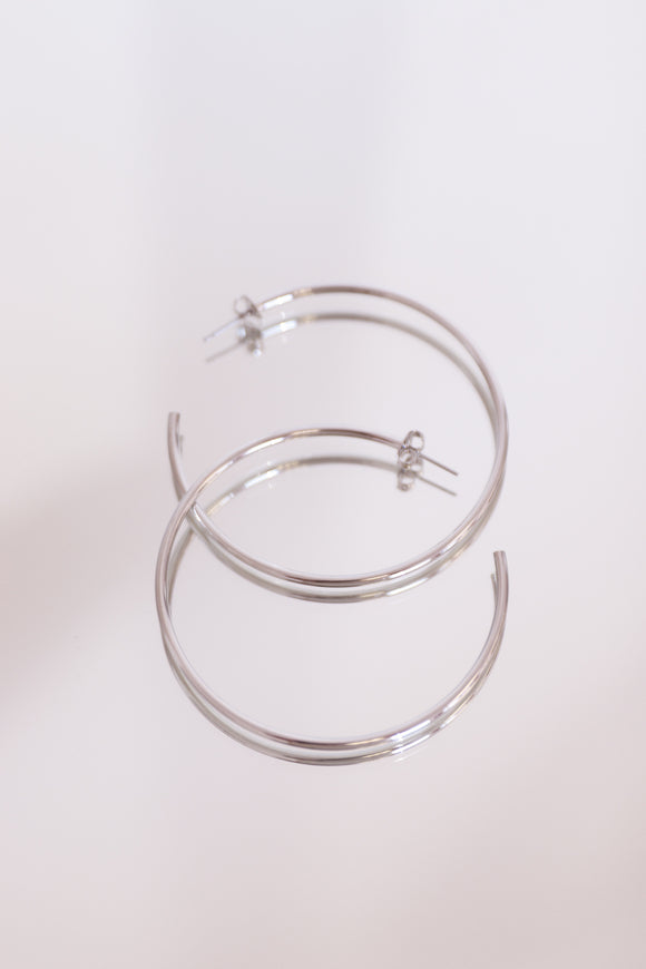 Small Thin Hoops