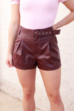 Leather Lover Shorts