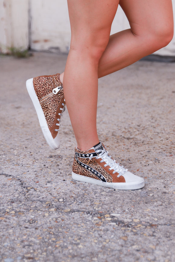 Walk On The Wild Side Sneakers