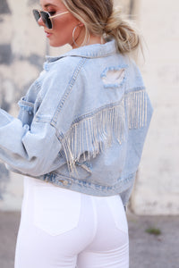 Rhinestone Reputation Jacket