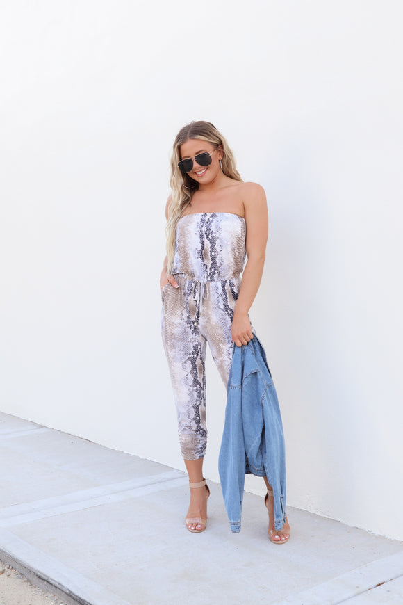 Slither N' Sassy Jumpsuit