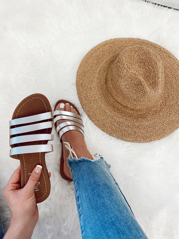 Shine This Way Sandals