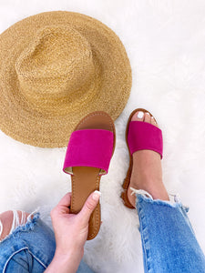 Slide This Way Sandals