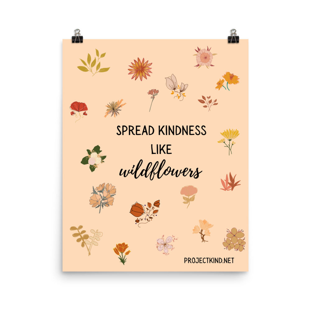 SPREAD KINDNESS, Wall Poster