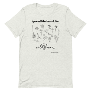 SPREAD KINDNESS Graphic Tee, Short-Sleeve Unisex T-Shirt
