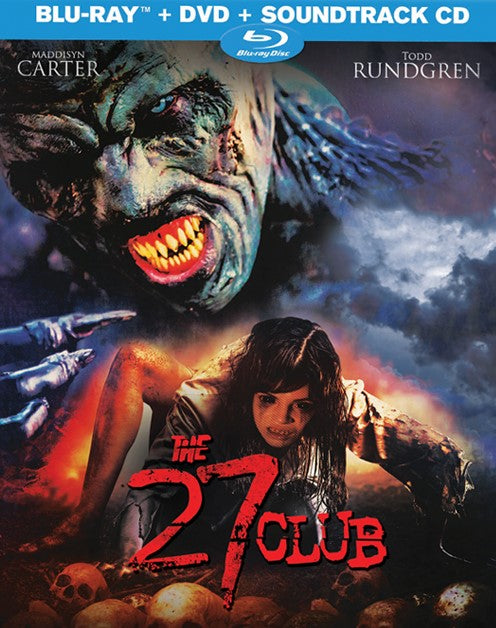 THE 27 CLUB BLU-RAY/DVD/CD