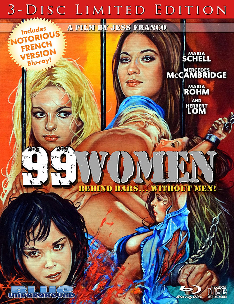 99 WOMEN (3-DISC LIMITED EDITION) BLU-RAY/DVD