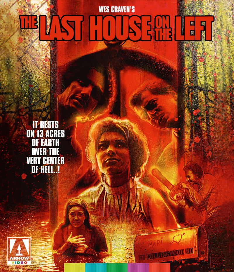 THE LAST HOUSE ON THE LEFT (STANDARD EDITION) BLU-RAY
