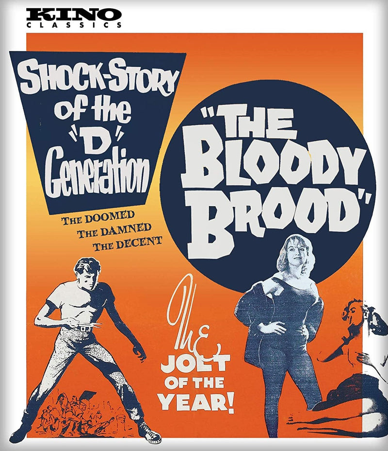 THE BLOODY BROOD BLU-RAY