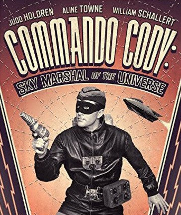 COMMANDO CODY: SKY MARSHAL OF THE UNIVERSE BLU-RAY