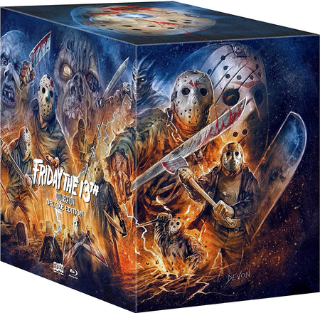 FRIDAY THE 13TH COLLECTION (DELUXE LIMITED EDITION) BLU-RAY