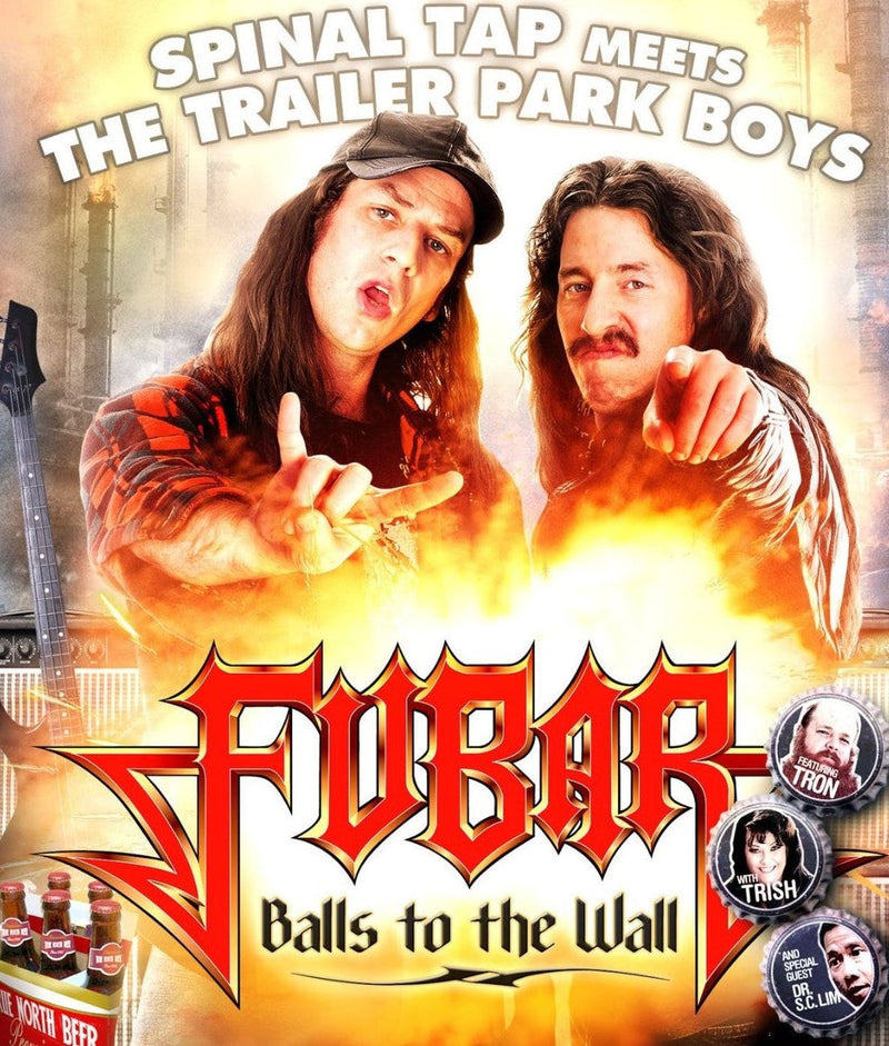 FUBAR: BALLS TO THE WALL BLU-RAY