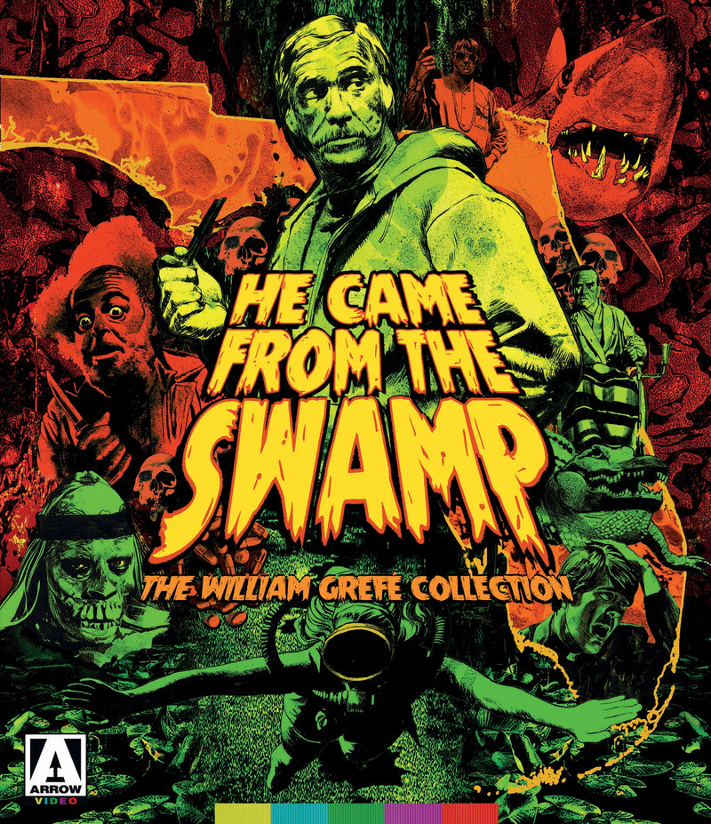 HE CAME FROM THE SWAMP: THE WILLIAM GREFE COLLECTION (LIMITED EDITION) BLU-RAY