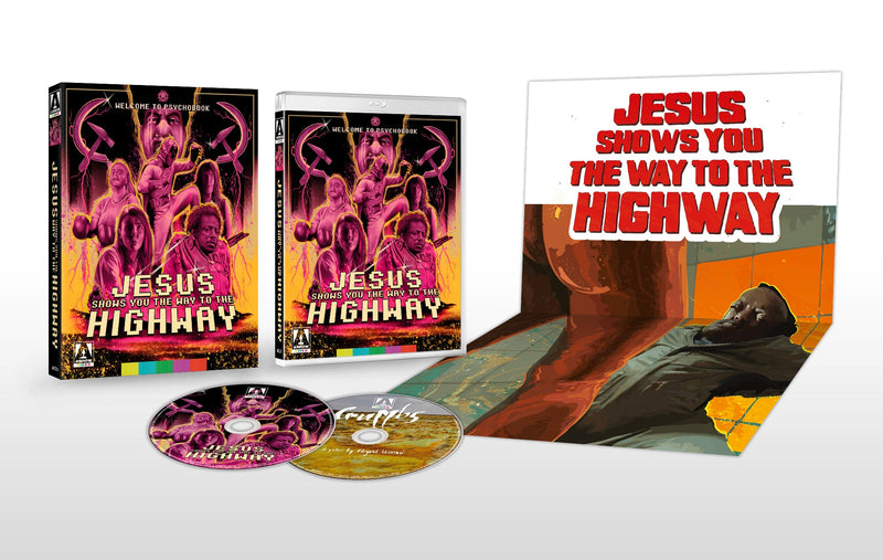 JESUS SHOWS YOU THE WAY TO THE HIGHWAY (LIMITED EDITION) BLU-RAY