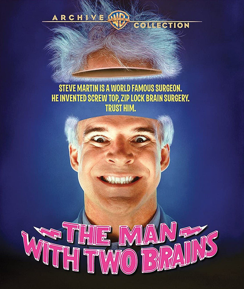 THE MAN WITH TWO BRAINS BLU-RAY