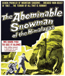 THE ABOMINABLE SNOWMAN OF THE HIMALAYAS BLU-RAY