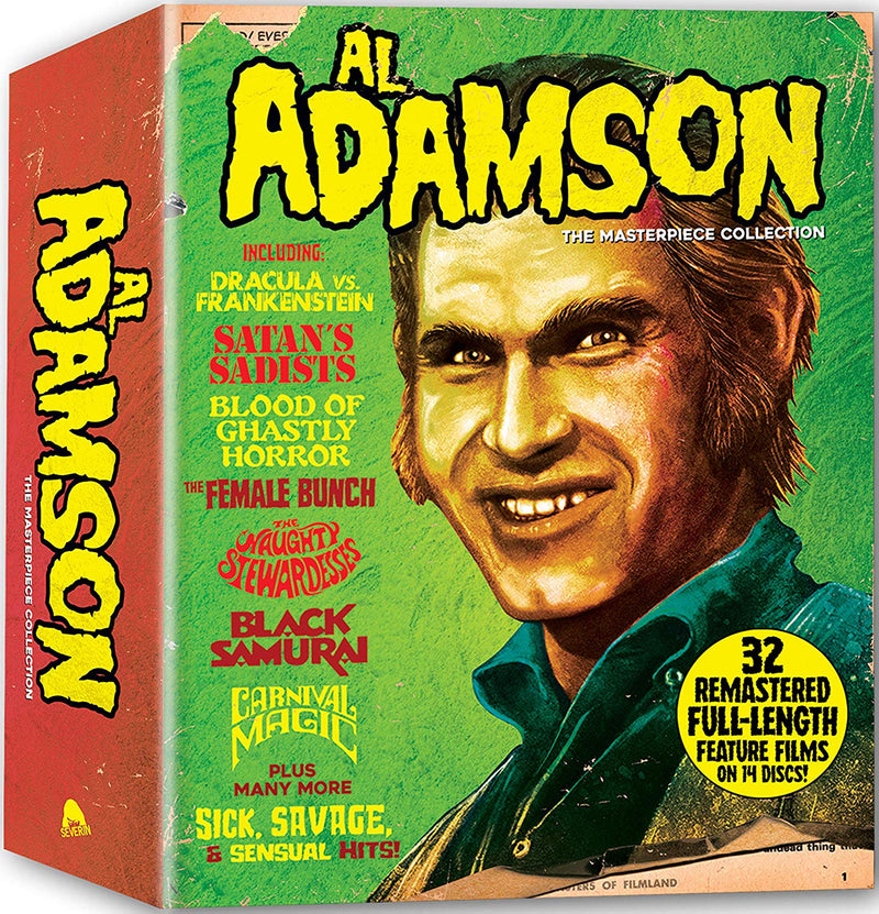 AL ADAMSON: THE MASTERPIECE COLLECTION (LIMITED EDITION) BLU-RAY