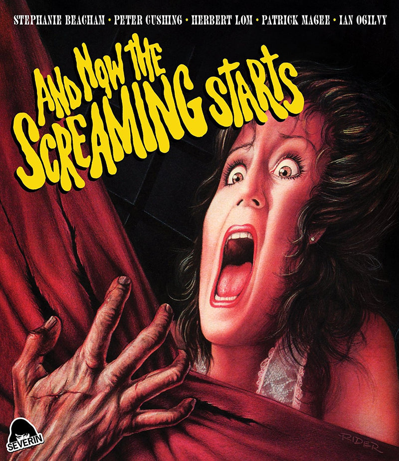 AND NOW THE SCREAMING STARTS BLU-RAY