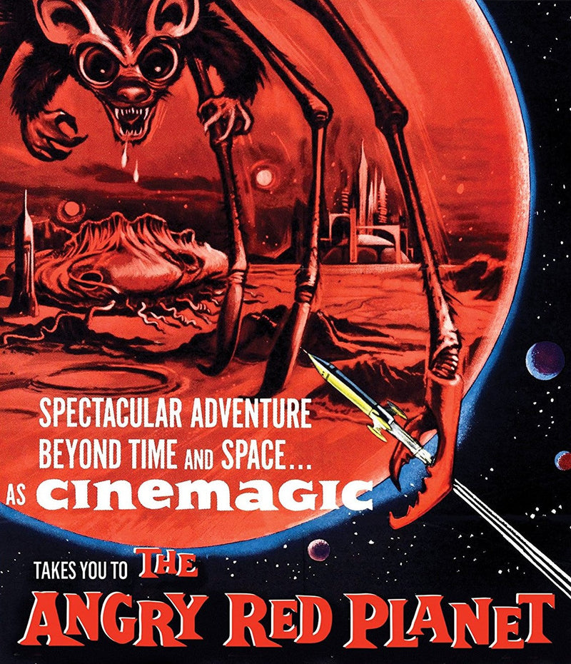 THE ANGRY RED PLANET BLU-RAY