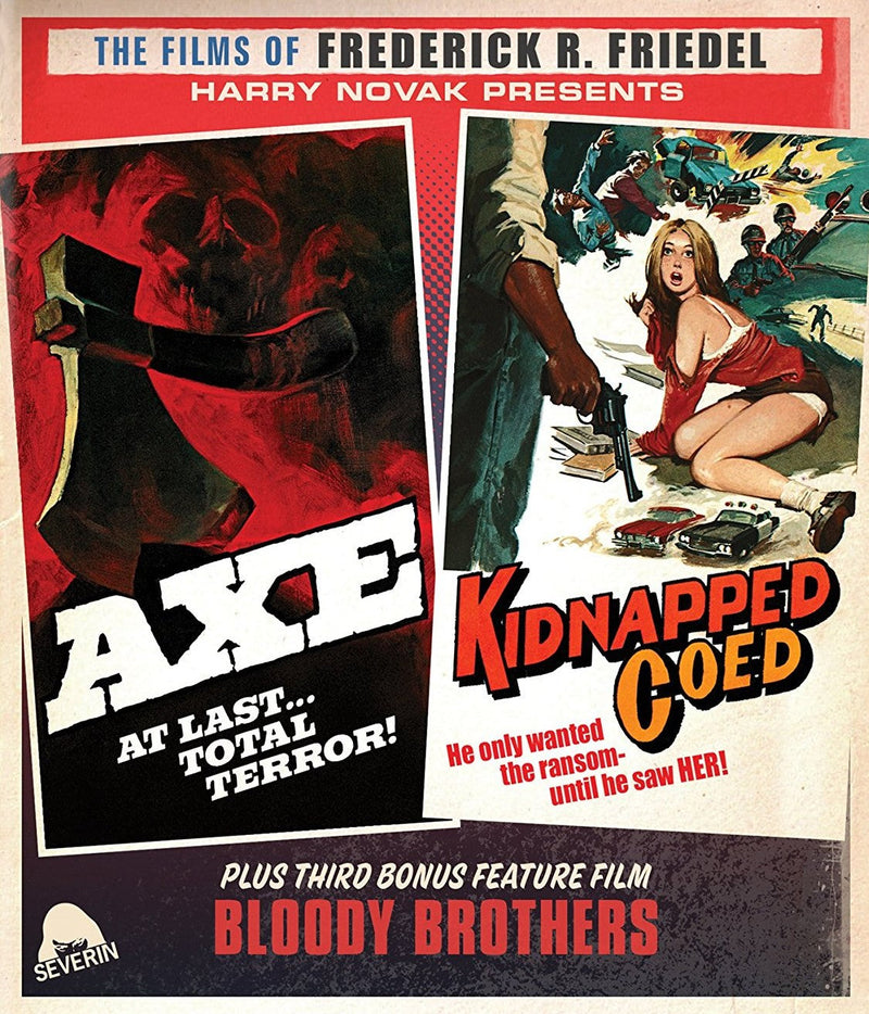 AXE / KIDNAPPED CO-ED BLU-RAY/CD