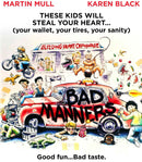 BAD MANNERS BLU-RAY