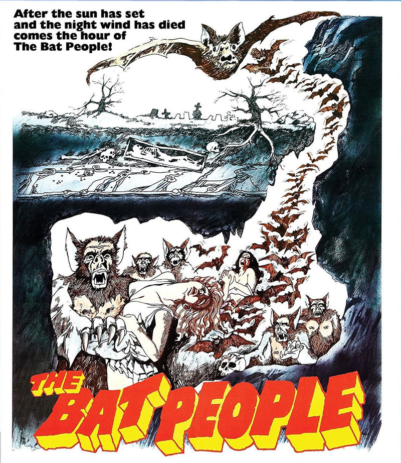THE BAT PEOPLE BLU-RAY