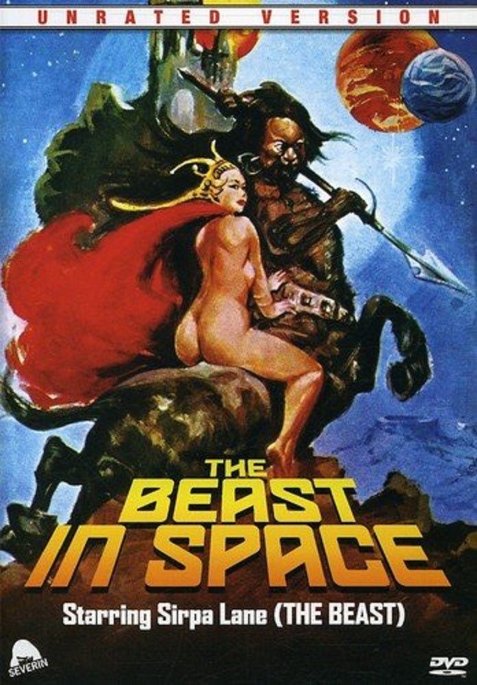 THE BEAST IN SPACE (UNRATED) DVD