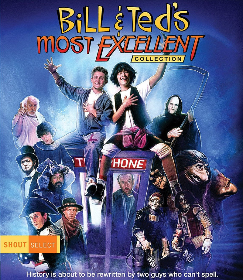 BILL AND TED'S MOST EXCELLENT COLLECTION BLU-RAY