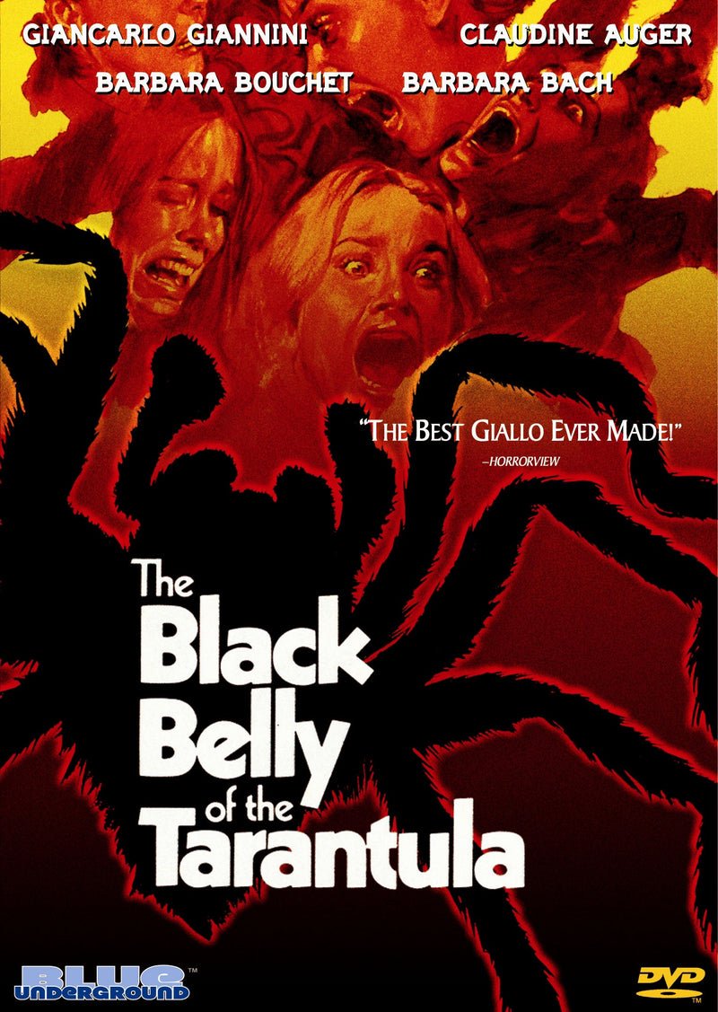 THE BLACK BELLY OF THE TARANTULA DVD