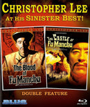 THE BLOOD OF FU MANCHU / THE CASTLE OF FU MANCHU BLU-RAY