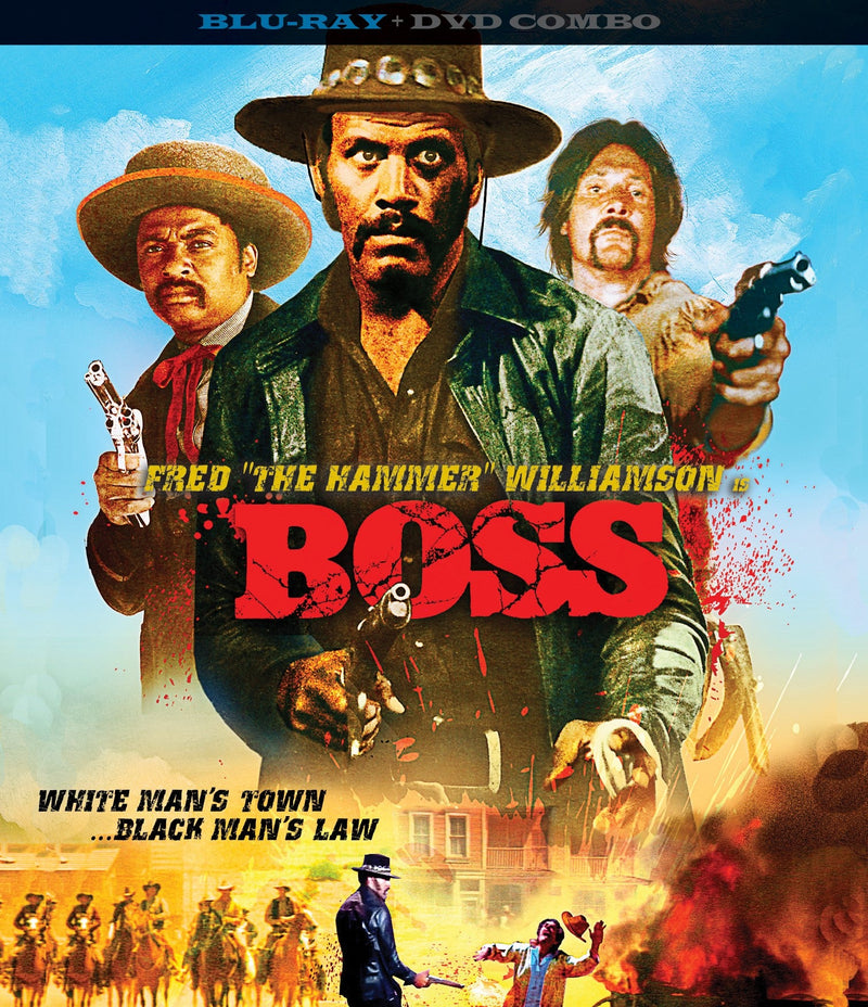BOSS BLU-RAY/DVD