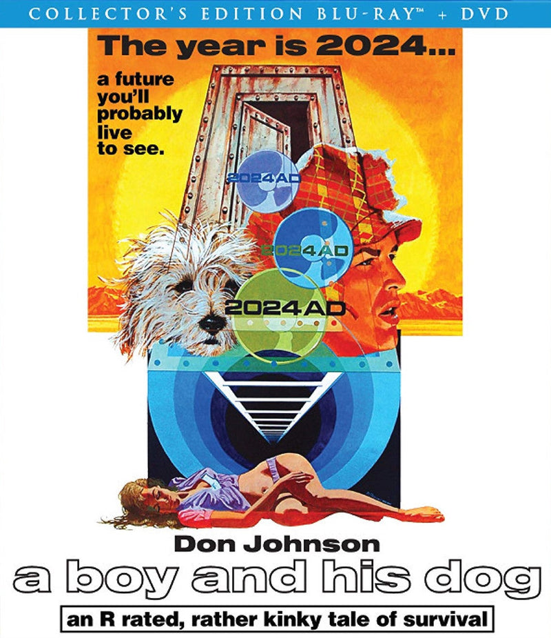 A BOY AND HIS DOG BLU-RAY/DVD