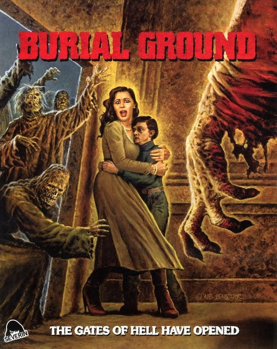 BURIAL GROUND BLU-RAY