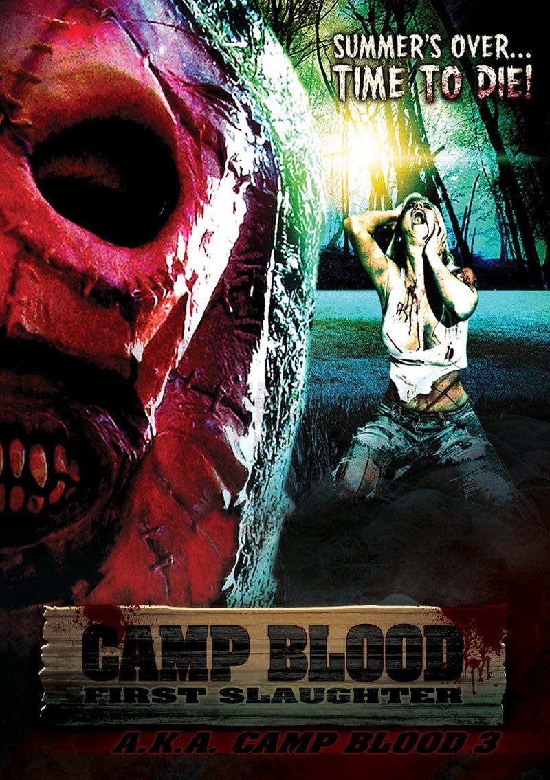CAMP BLOOD: FIRST SLAUGHTER DVD