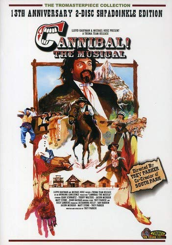 CANNIBAL: THE MUSICAL (13TH ANNIVERSARY EDITION) DVD