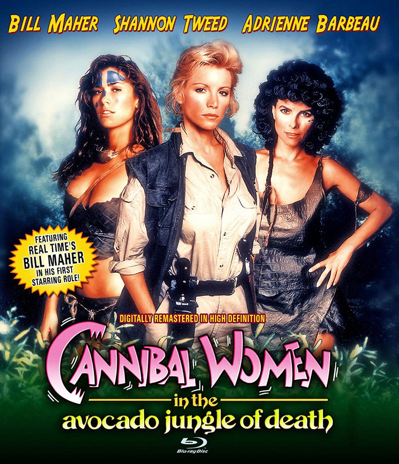 CANNIBAL WOMEN IN THE AVOCADO JUNGLE OF DEATH BLU-RAY
